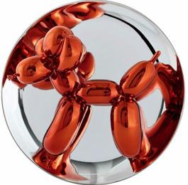 Balloon Dog - Orange