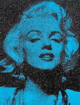 Marilyn Portrait California (Venice Blue)