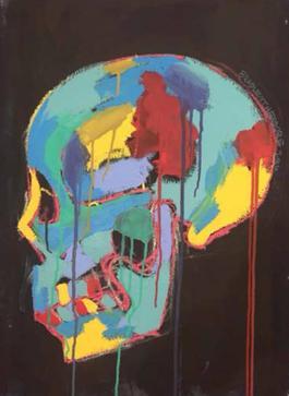 Skull Triptych 1