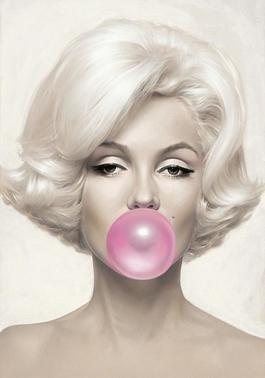 Marilyn Monroe Pink Bubblegum