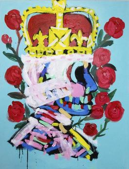 King with Roses