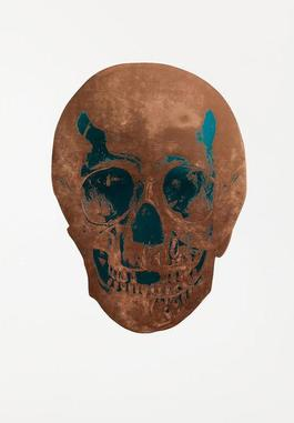 Panama Copper/Turquoise Skull