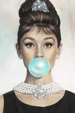 Audrey Hepburn Tiffany Blue
