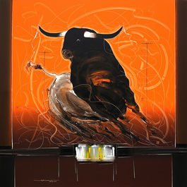 Bull Painting - 59
