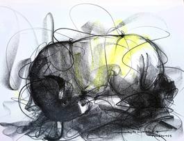 Bull Drawing - 609