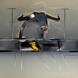 Bull Painting - 54