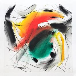 Bull Painting - 688