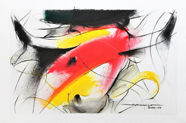 Bull Painting - 686