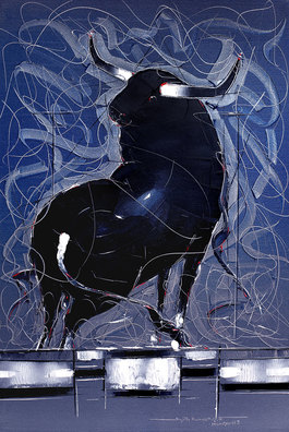 Bull Painting - 83