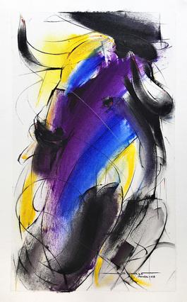 Bull Painting - 687