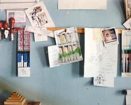 Milano, 1989-90 Studio di Aldo Rossi