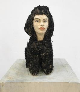 Poodle with Female Head