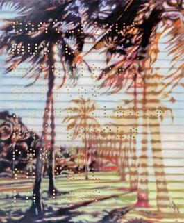 Tropical Painting No. 5 (Contagious music, EUR mosquitoes, mojitos, surveillance and people ready USD to fall in love...)