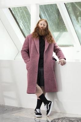 Will in Celine Coat