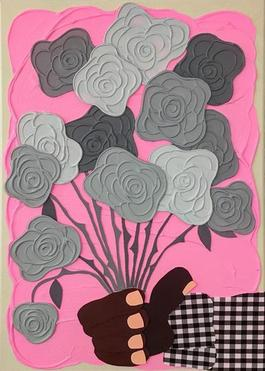 Rosas Grises (Pink)