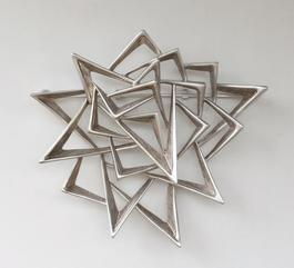 Untitled (Futurist Brooch)