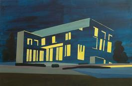 By Night (A Study of the Wittgenstein House)