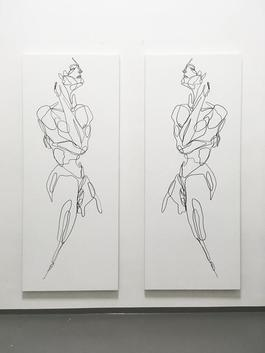 Guardians (diptych)