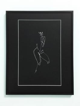 Female Nude (black) III