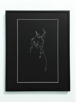 Female Nude (black) I