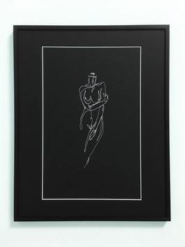 Female Nude (black) II