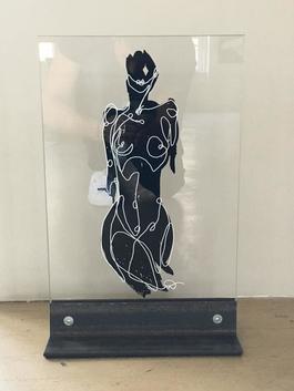 Female Nude (glass)
