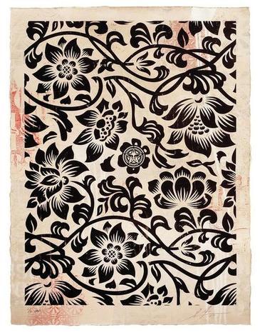 Floral Takeover (Black/Cream)