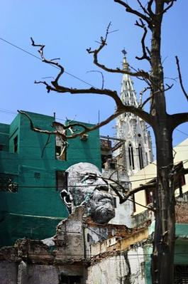 The Wrinkles of the City, La Havana, Raul Cabrera Cardenas, (artwork by JR, project by JR & Jose Parla) Cuba