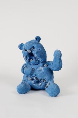 Blue Calcite Bear