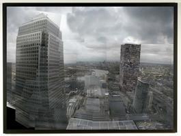 Kolkoz Tower, London: Top floor HSBC Bank view