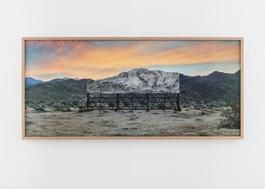Giants, Death Valley, Billboard, Mars 4, 2017, 5:41 pm, California, USA