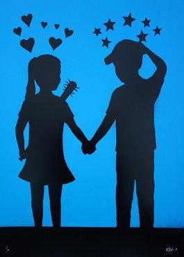 Love hurts (blue)