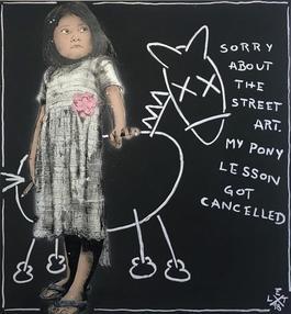 Sorry abut the streetart