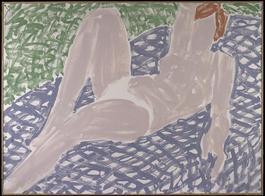 White Bikini, Mauve Spread (84-05)