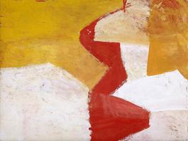 Untitled (Red, Yellow, and White)