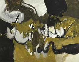 Untitled (Black, White, and Brown VIII)