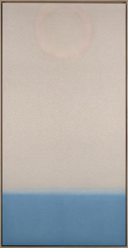 Untitled (Pale/Blue Vertical)
