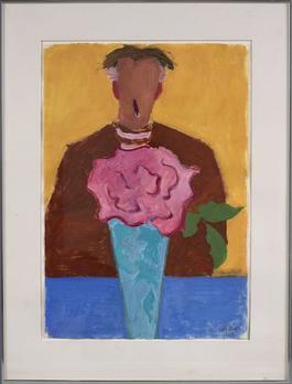 Vase and Artist (Milton Avery)