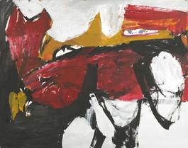 Untitled (Black, White, Red, and Brown IV)