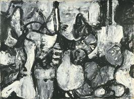 Untitled (Black, White, and Gray)
