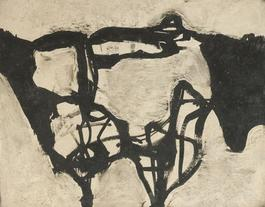 Untitled (Black and Gray III)
