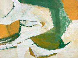 Untitled (Green, Yellow, and White)