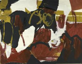 Untitled (Black, White, Red, and Brown II)
