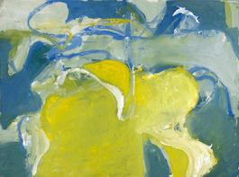 Untitled (Blue, Yellow, and Green)