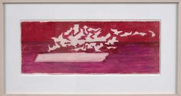 Untitled (Red Seascape)