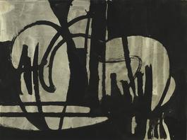 Untitled (Black and Gray IV)