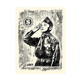 Damaged Stencil Learn To Obey
