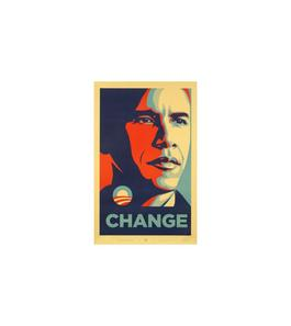 Obama Change (Numbered Edition)