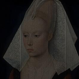 Rogier van der Weyden, Portrait d