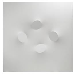 4 ovali bianchi